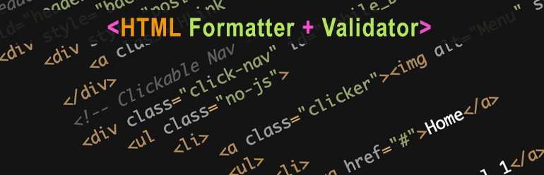 HTML Formatter and Beaufifier